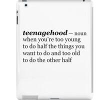 Teenagehood iPad Case/Skin