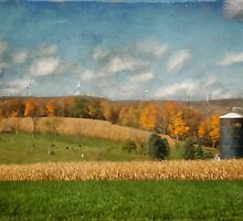 Windmills On The Horizon by Lois  Bryan