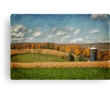Windmills On The Horizon Canvas Print