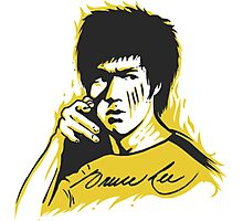 Bruce Lee The Master Photographic Print