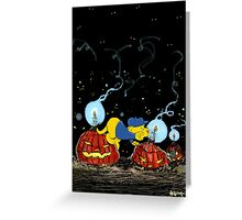 Ferald and The Rotten Pumpkins Greeting Card