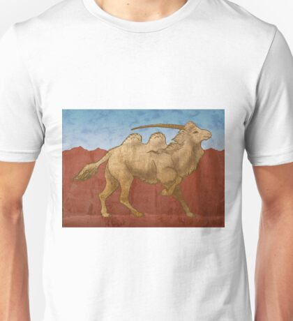 Bactrian Unicorn Unisex T-Shirt
