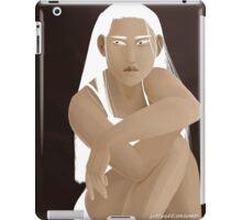 White Eyes iPad Case/Skin