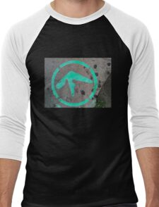 Aphex Twin / Syro Graffiti Men's Baseball ¾ T-Shirt