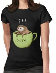 Sloffee Womens Fitted T-Shirt