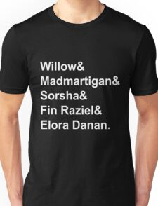 Willow Characters Unisex T-Shirt