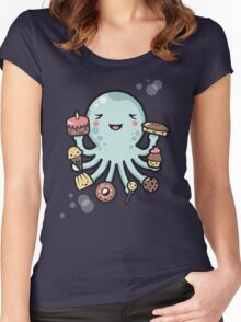 Room for Dessert? Women's Fitted Scoop T-Shirt