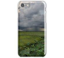 Storm over Fogg dam iPhone Case/Skin