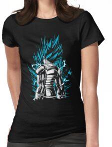 vegeta god training Womens Fitted T-Shirt