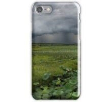Storm over Fogg dam (square) iPhone Case/Skin