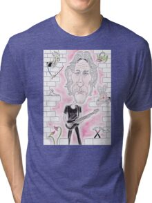 Rock Wall Caricature Tri-blend T-Shirt