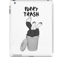 Furry Trash - Border Collie iPad Case/Skin