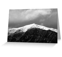 Snow Capped Peak (Ben Lomond Peak)  Greeting Card