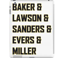 Padres Teammates from TV Show Pitch iPad Case/Skin
