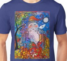 Old St. Nick-Acrylic Unisex T-Shirt