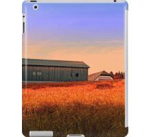 Burning fields of summer | landscape photography iPad Case/Skin