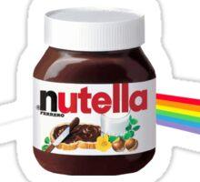 Chocolate rainbow Sticker
