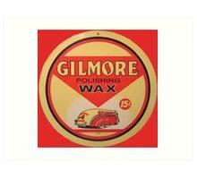 Gilmore Polishing Wax Art Print