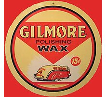 Gilmore Polishing Wax Photographic Print