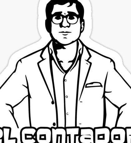 El Contador Sticker