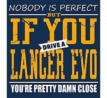 Mitsubishi Lancer Evo Photographic Print