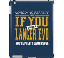 Mitsubishi Lancer Evo iPad Case/Skin