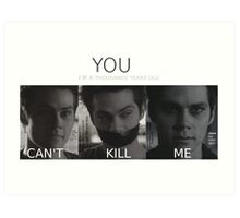 Void Stiles (with quotes) Art Print