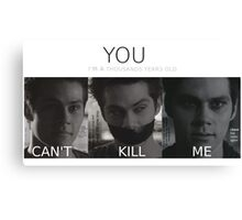 Void Stiles (with quotes) Canvas Print
