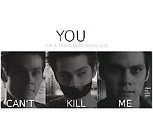 Void Stiles (with quotes) Photographic Print
