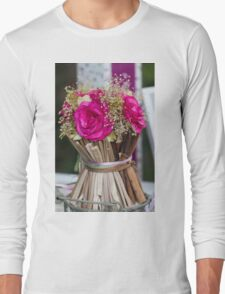 decoration with flowers Long Sleeve T-Shirt