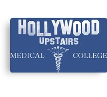 Hollywood Upstairs Medical College - The Simpsons Canvas Print