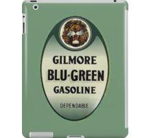 Gilmore Blu-Green Gasoline iPad Case/Skin