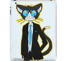 tuxedo cat! iPad Case/Skin