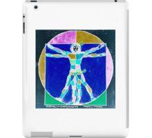 Vitruvian Man Colour Rev iPad Case/Skin