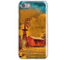 Cabin on a Windy Hill iPhone Case/Skin