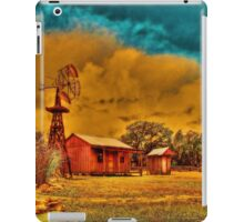 Cabin on a Windy Hill iPad Case/Skin