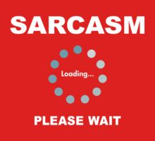 Sarcasm Kids Clothes
