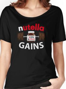 Nutella Gains Women's Relaxed Fit T-Shirt