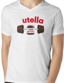 Nutella Gains Mens V-Neck T-Shirt