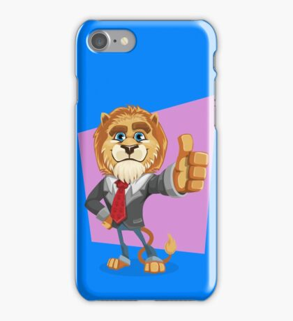 Classy Old Lion iPhone Case/Skin