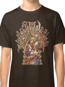 Throne of Magic - Sailor Moon Classic T-Shirt