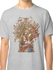 Throne of Magic - Sailor Moon Classic T-Shirt
