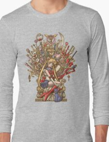 Throne of Magic - Sailor Moon Long Sleeve T-Shirt