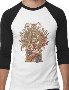 Throne of Magic - Sailor Moon Men's Baseball ¾ T-Shirt