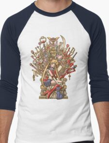 Throne of Magic - Sailor Moon Men's Baseball ¾ T-Shirt