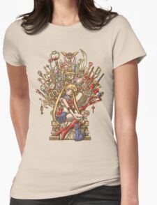 Throne of Magic - Sailor Moon Womens Fitted T-Shirt