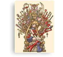 Throne of Magic - Sailor Moon Canvas Print