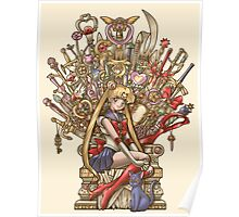Throne of Magic - Sailor Moon Poster
