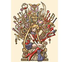 Throne of Magic - Sailor Moon Photographic Print