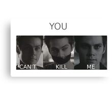 Void Stiles Canvas Print